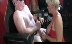 Cum Face for Mature swinger Tracey
