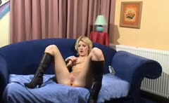 horny german milf show her pussy on the webcam - webcam